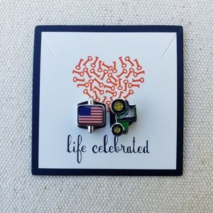 Keep Collective *Flag & Tractor* Charm Set